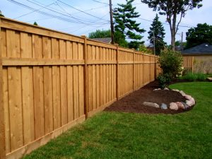 Wooden Privacy Fence built in Orange County, California